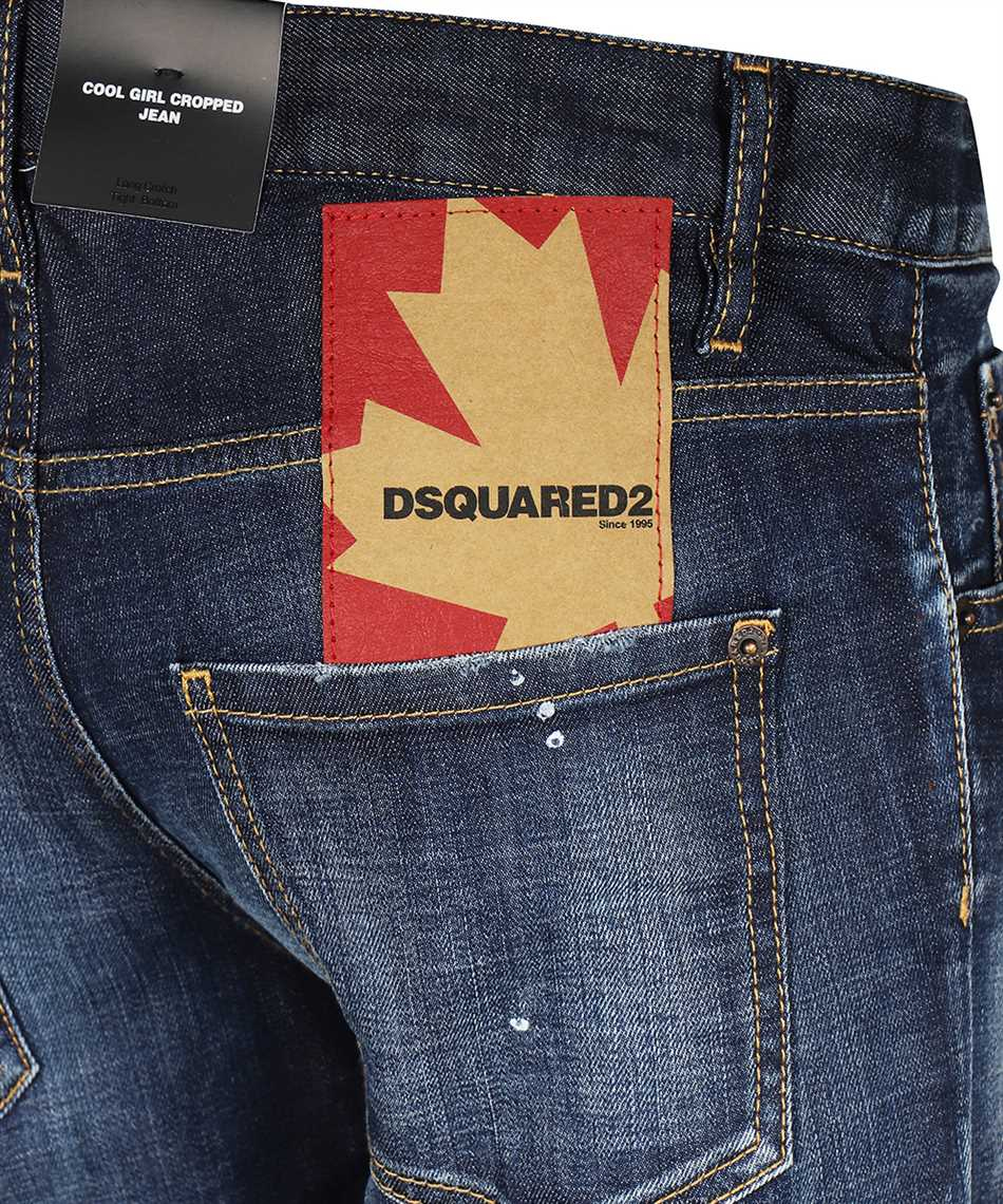 Dsquared2 S72LB0354 S30342 COOL GIRL CROPPED Jeans 3