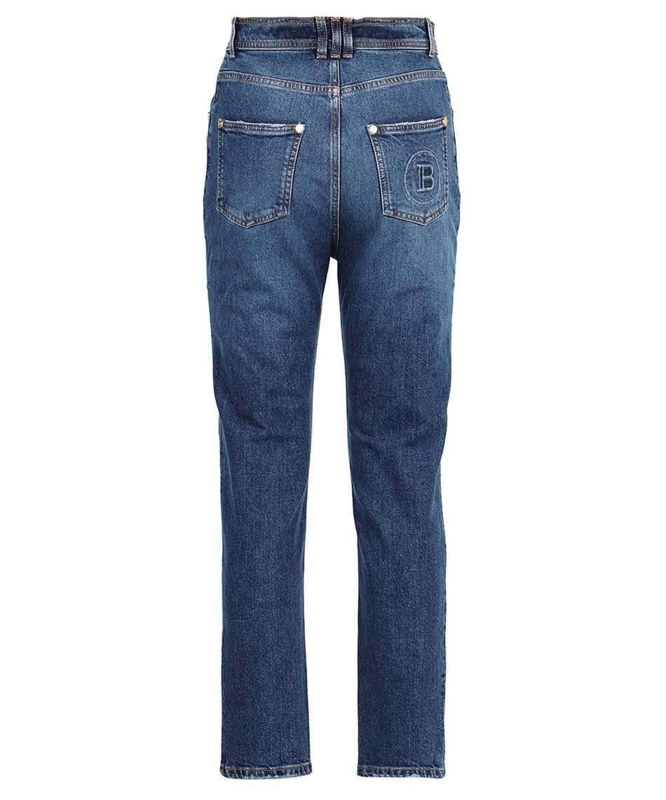Balmain WF0MG005D161 SLIM MONOGRAM Jeans 2