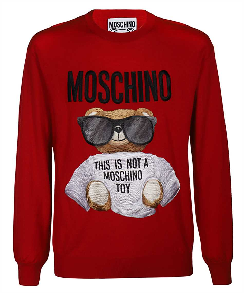 Moschino 0901 5200 MICRO TEDDY BEAR Knit 1