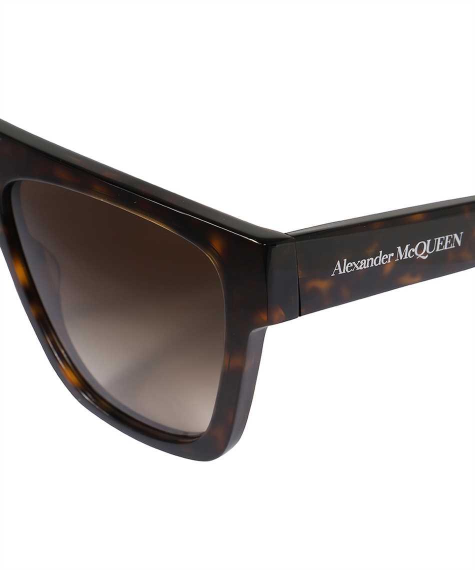 Alexander McQueen 649836 J0740 SELVEDGE FLAT TOP Occhiali da sole 3
