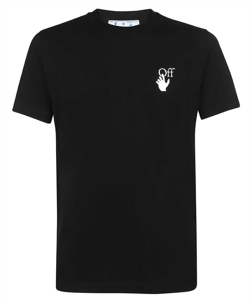 Off-White OMAA027F21JER005 DEGRADE ARROW S/S SLIM T-shirt 1