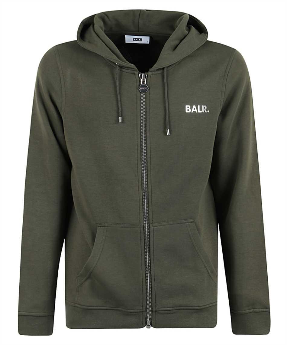 Balr. Q-Series straight zip thru hoodie Kapuzen-Sweatshirt 1