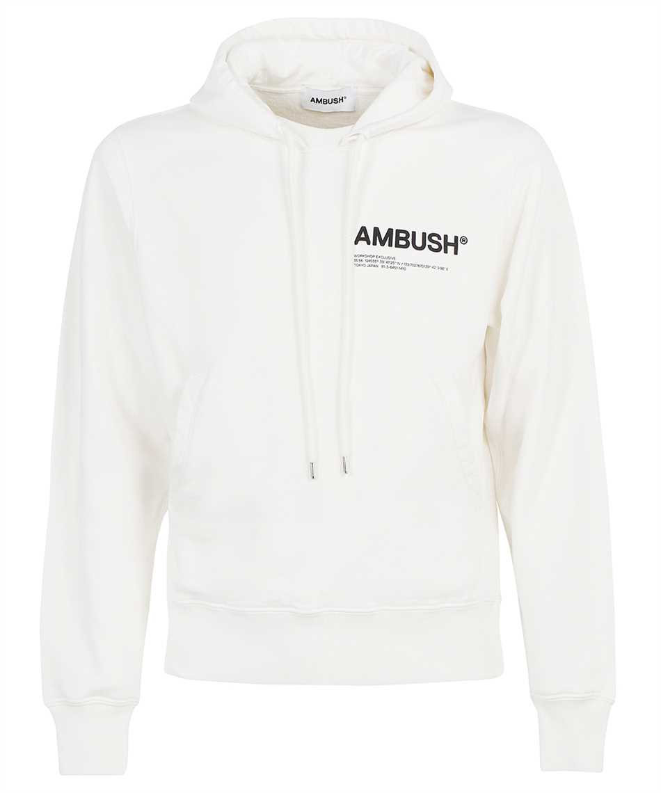 Ambush BMBB012F21FLE001 FLEECE WORKSHOP Hoodie 1