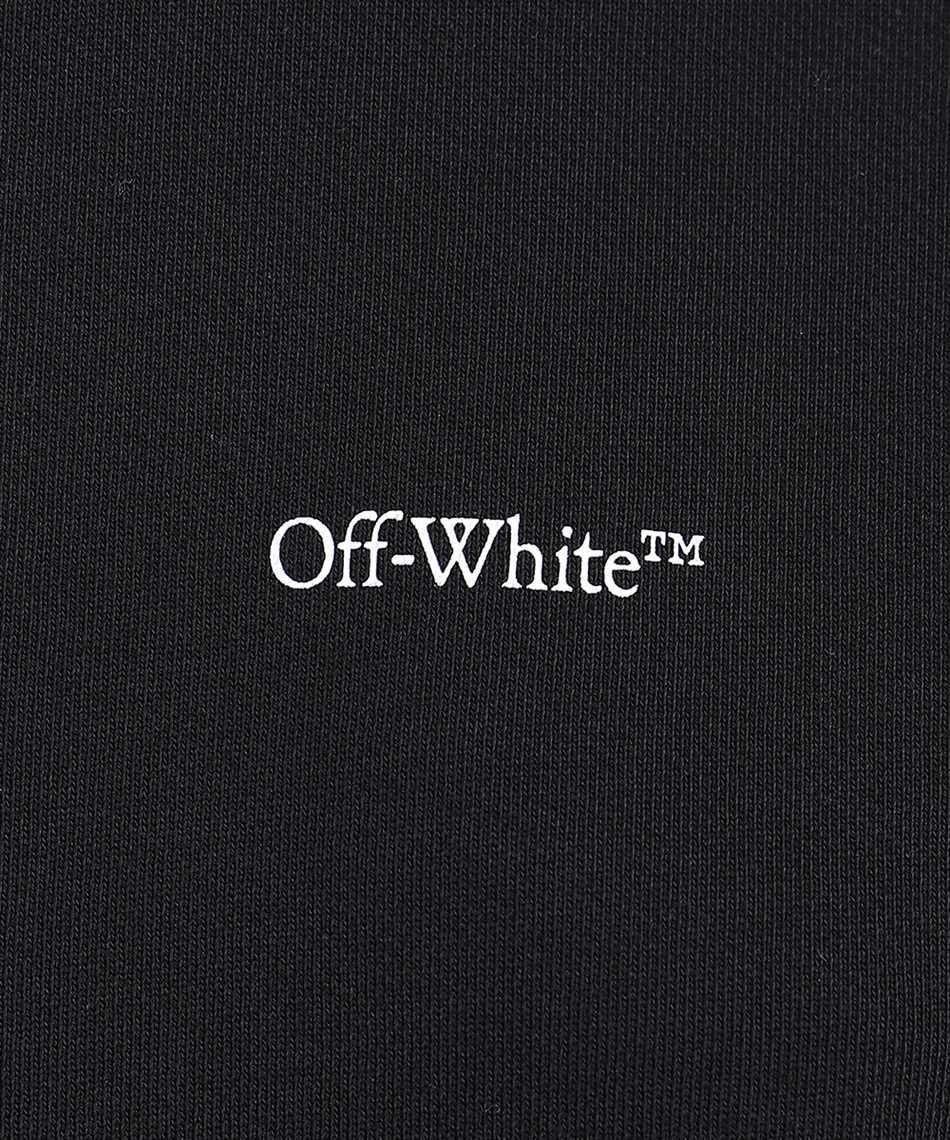 Off-White OWBA055F20JER009 BLUE VELVET Sweatshirt 3