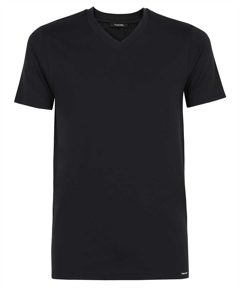 Tom Ford T4M09 141 V-NECK T-shirt 1