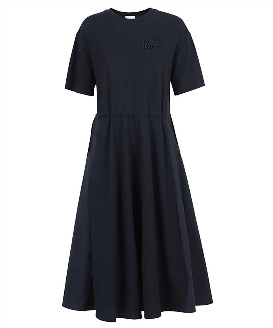 Moncler 8I723.10 84720 SHORT SLEEVE MIDI Dress 1