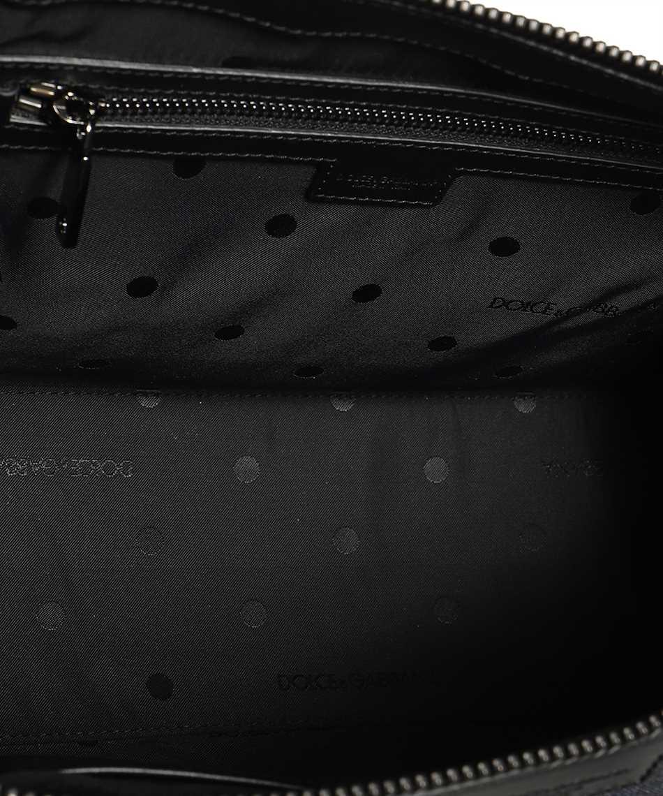 Dolce & Gabbana BM1817 AW347 PATCHWORK DENIM EDGE CROSSBODY Bag 3