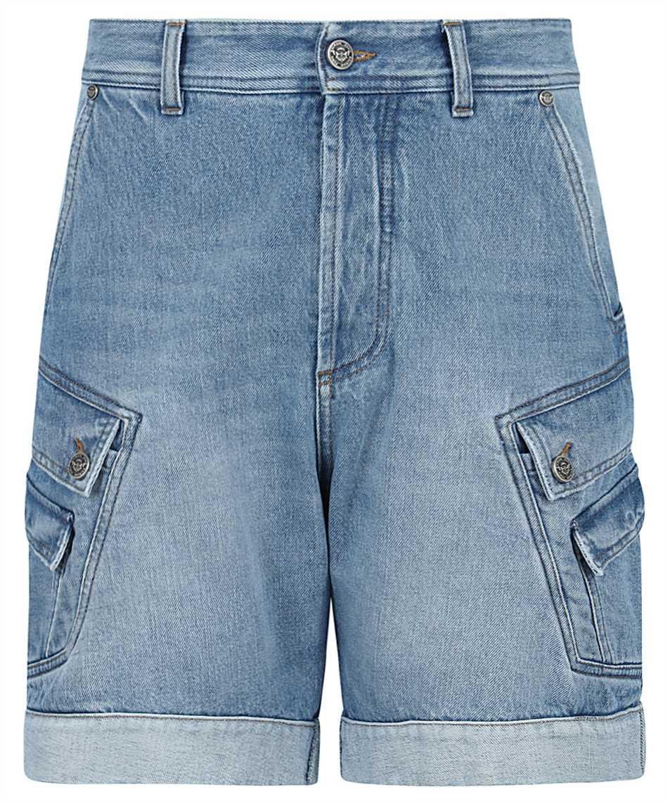 Balmain VH1MA000104D CARGO DENIM Shorts 1