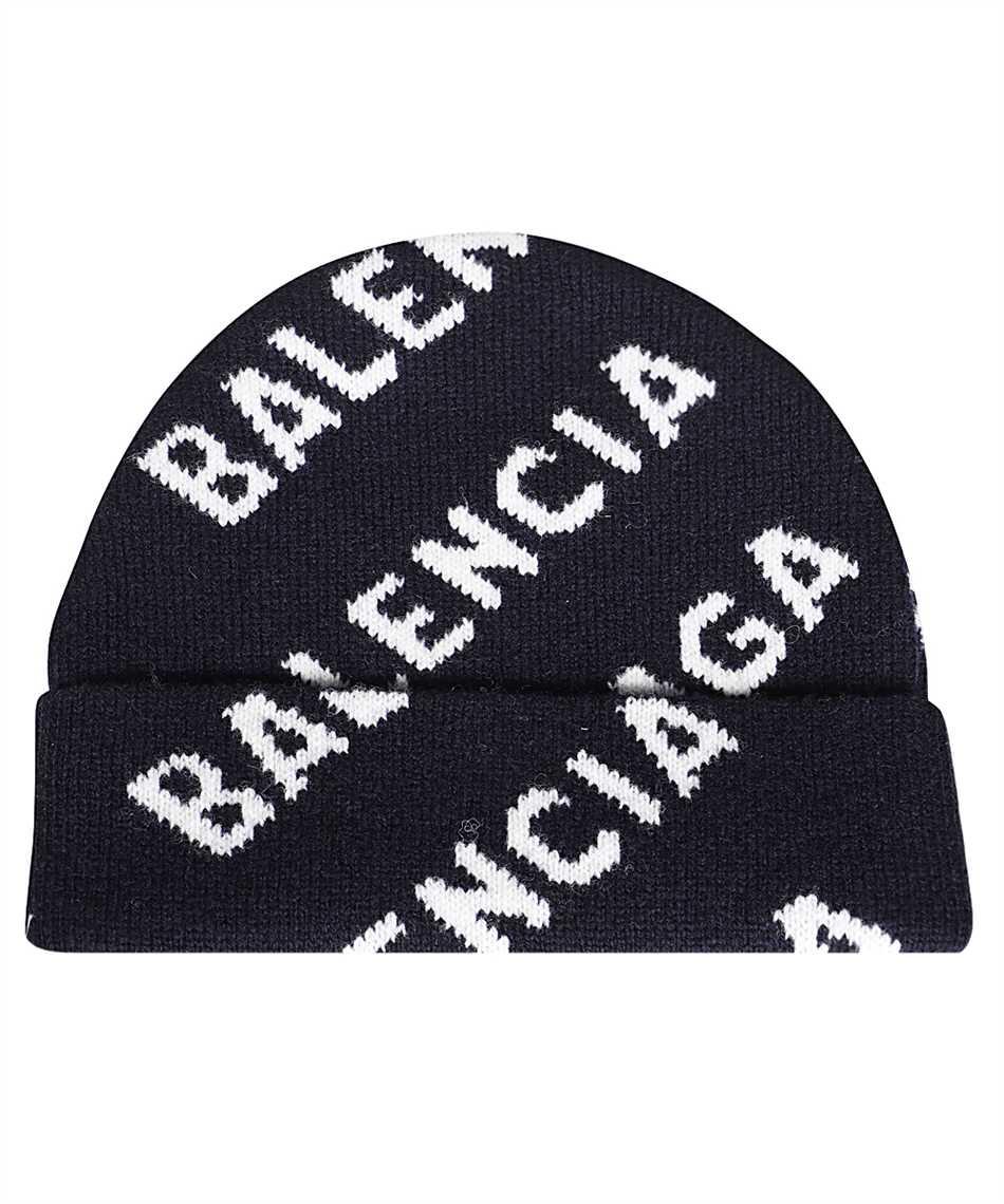 Balenciaga 621021 T1567 ALLOVER LOGO Beanie 2