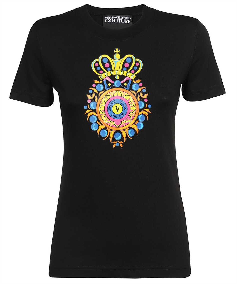 Versace Jeans Couture 71HAHT20 CJ00T SMALL TRANSFER T-Shirt 1