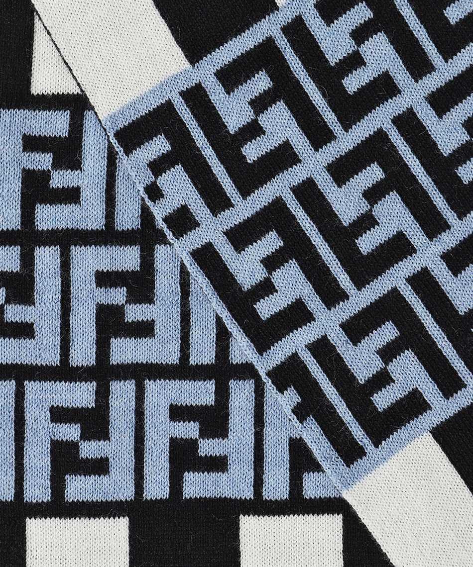 Fendi FXS124 AFHL 30X180 FF Schal 2