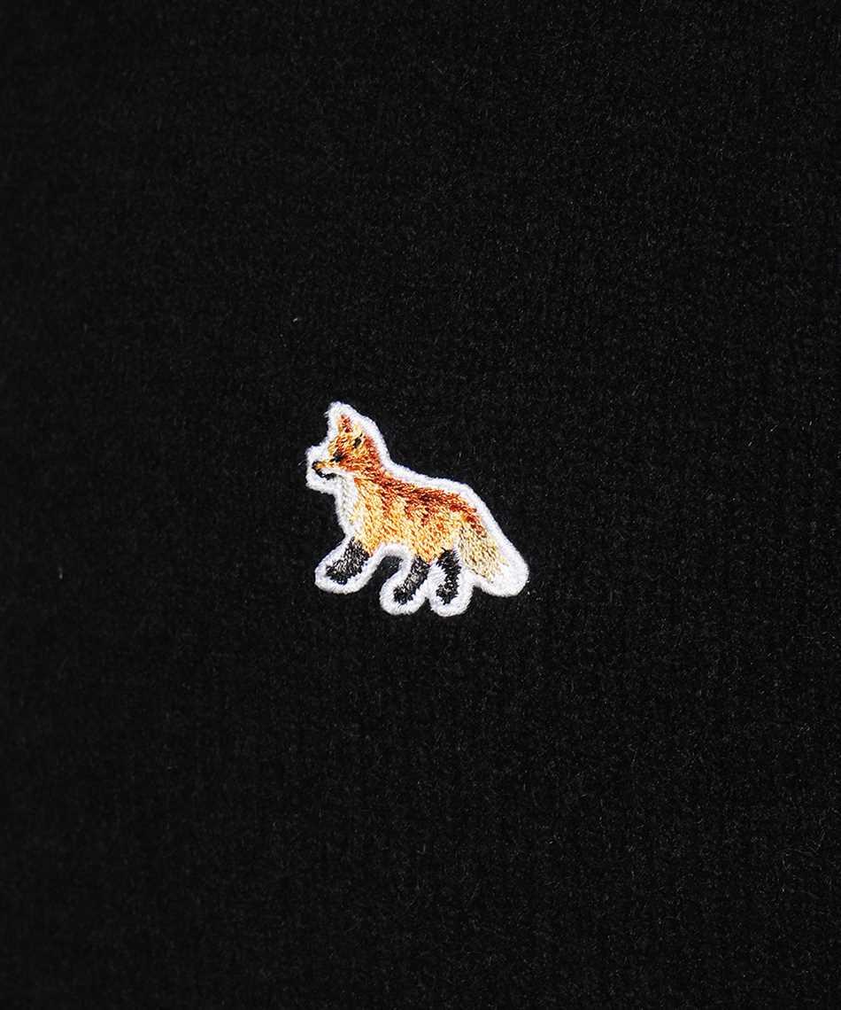 Maison Kitsune HM00502KT1006 BABY FOX PATCH COZY R-NECK Maglia 3