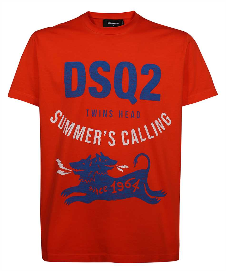 Dsquared2 S71GD1052 S22427 SUMMER CALLING T-shirt 1