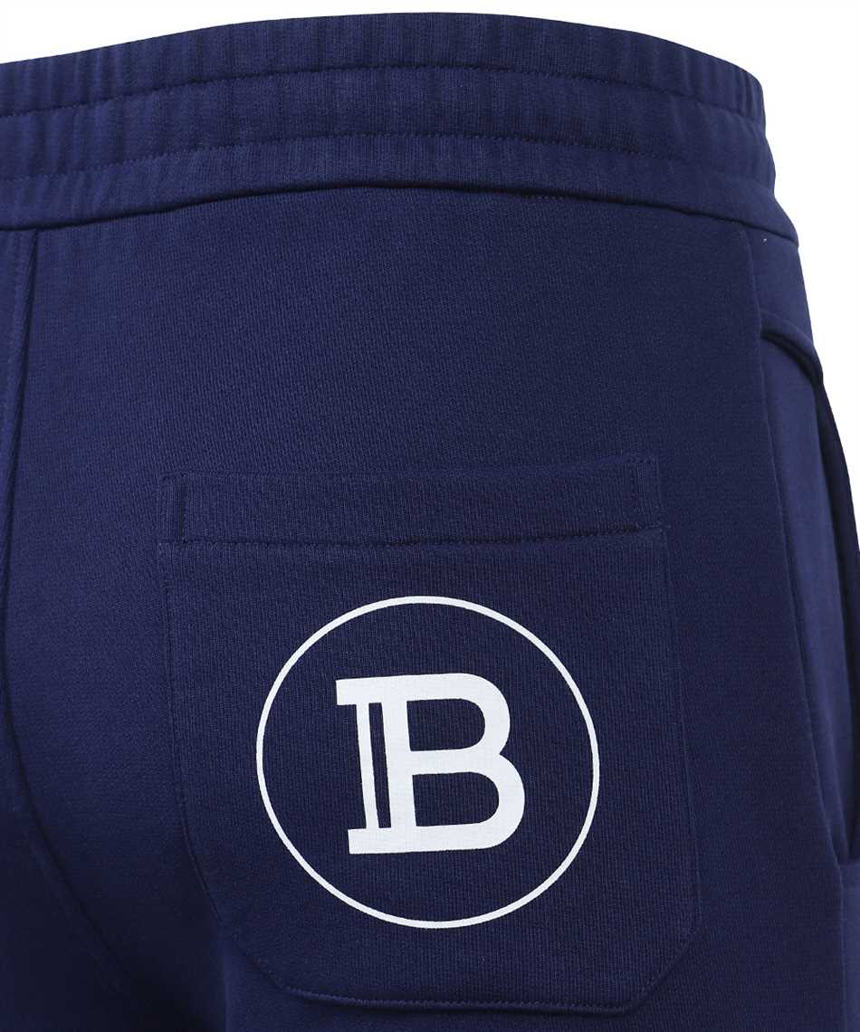 Balmain VH1OB000B028 PRINTED RIBBED Trousers 3