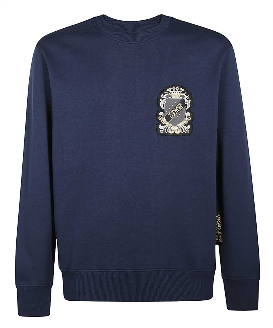 Versace Jeans Couture B7GZB7TW 30216 PATCH SHIELD Sweatshirt 1