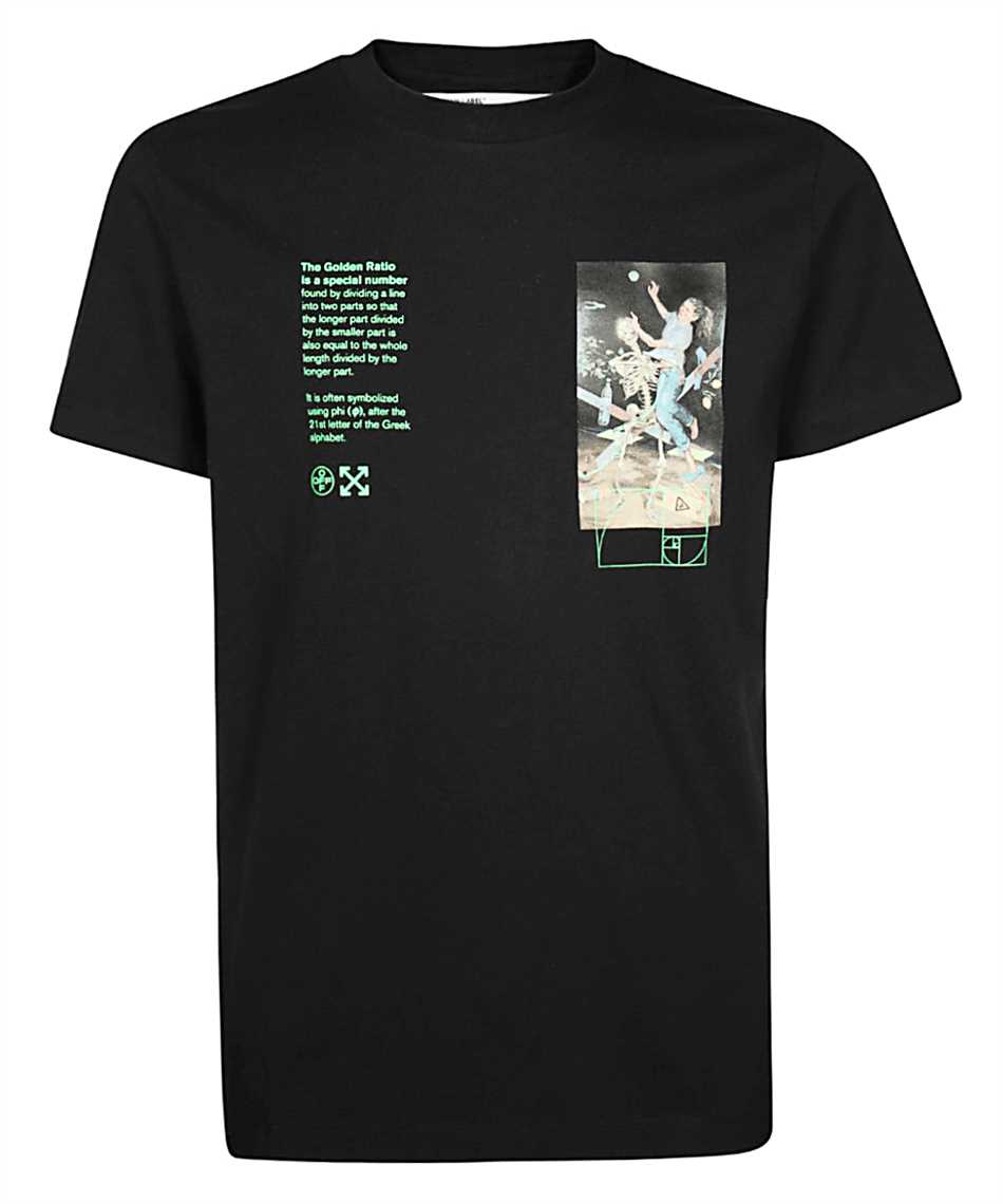 Off-White OMAA027R20185014 PASCAL PAINTING T-Shirt 1