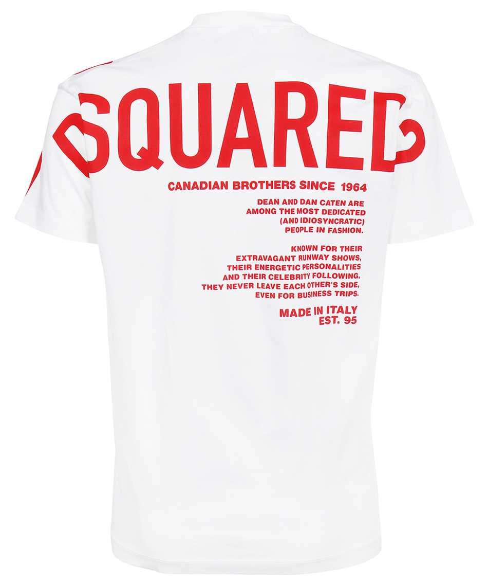 Dsquared2 S74GD0852 S23009 MEGALEAF COOL T-shirt 2