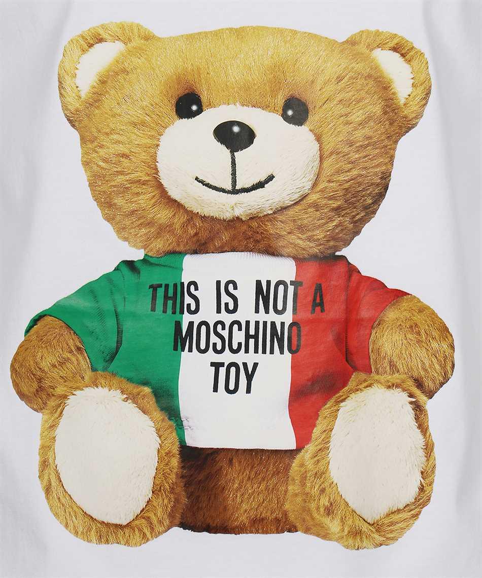 Moschino V0720 2040 ITALIAN TEDDY BEAR T-Shirt 3