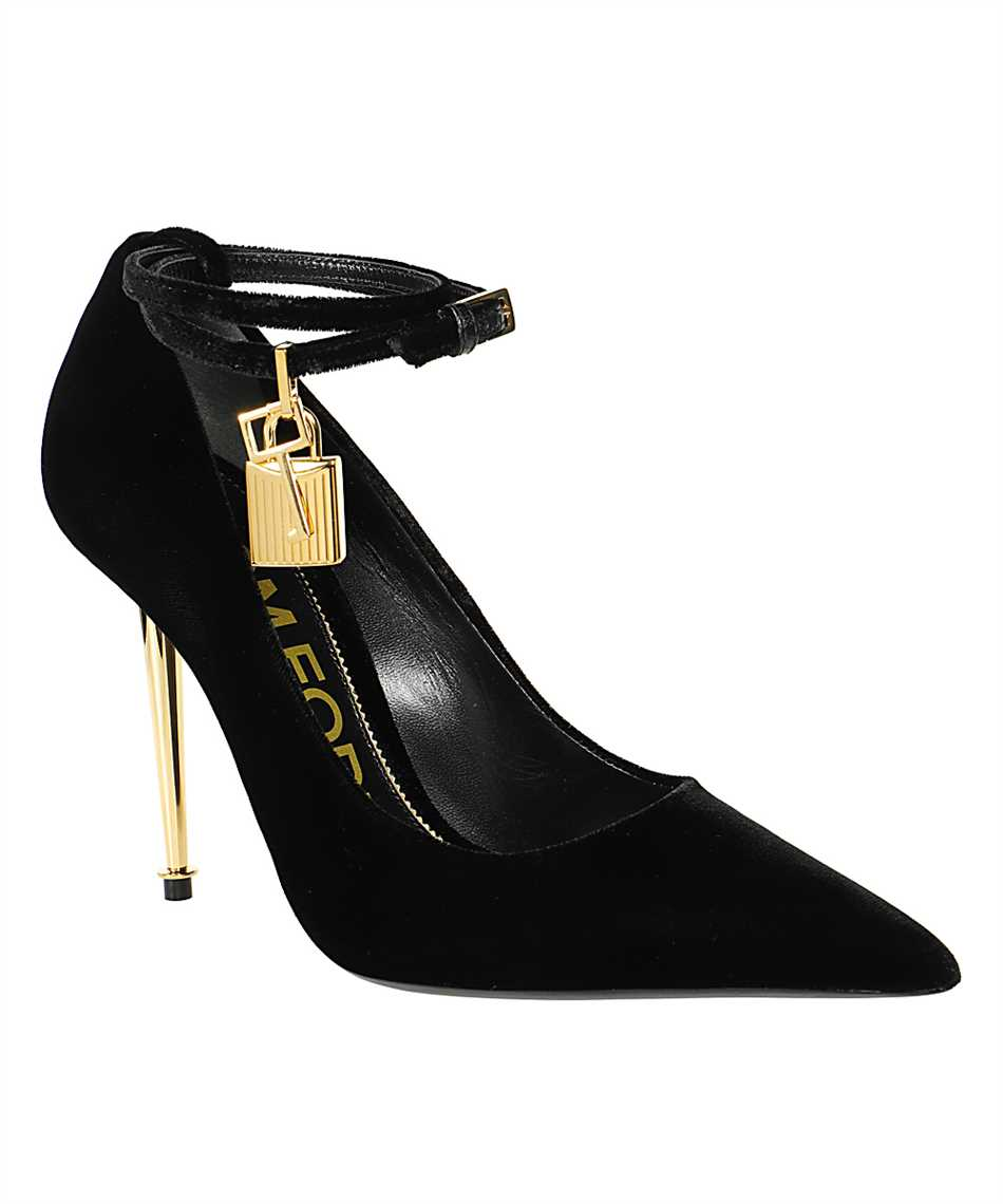 Tom Ford W2271T TVE001 PADLOCK POINTY Shoes 2