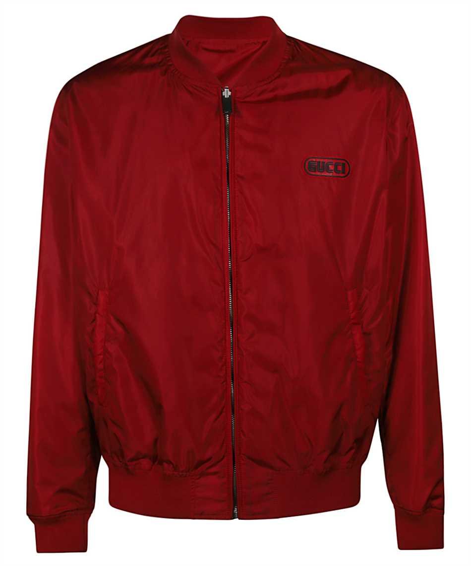 Gucci 521764 Z789C REVERSIBLE GG NYLON BOMBER Jacket 1