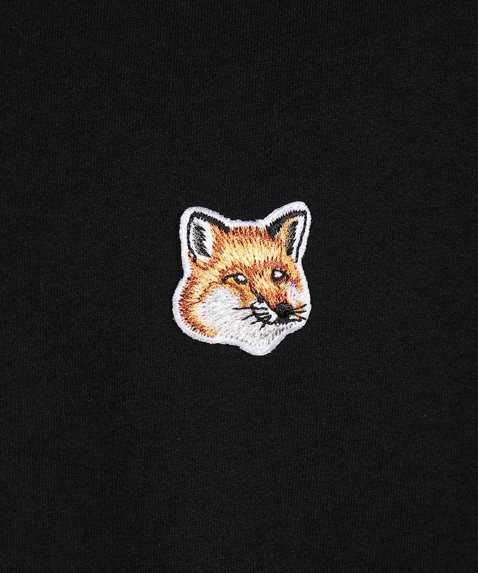 Maison Kitsune FU00163KJ0010 FOX HEAD PATCH REGULAR LONG-SLEEVED T-Shirt 3