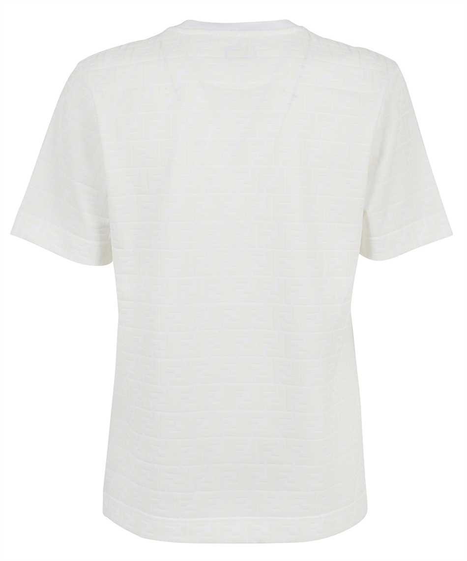 Fendi FY0936 A7D5 FF PIQUET PRINT T-shirt 2