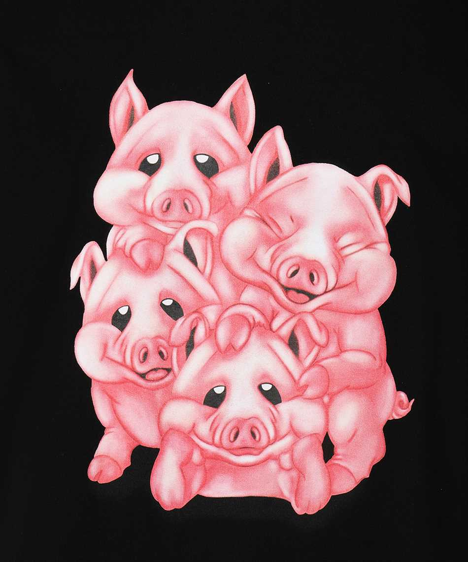 Vetements UAH21TR560 NAUGHTY PIGS T-shirt 3