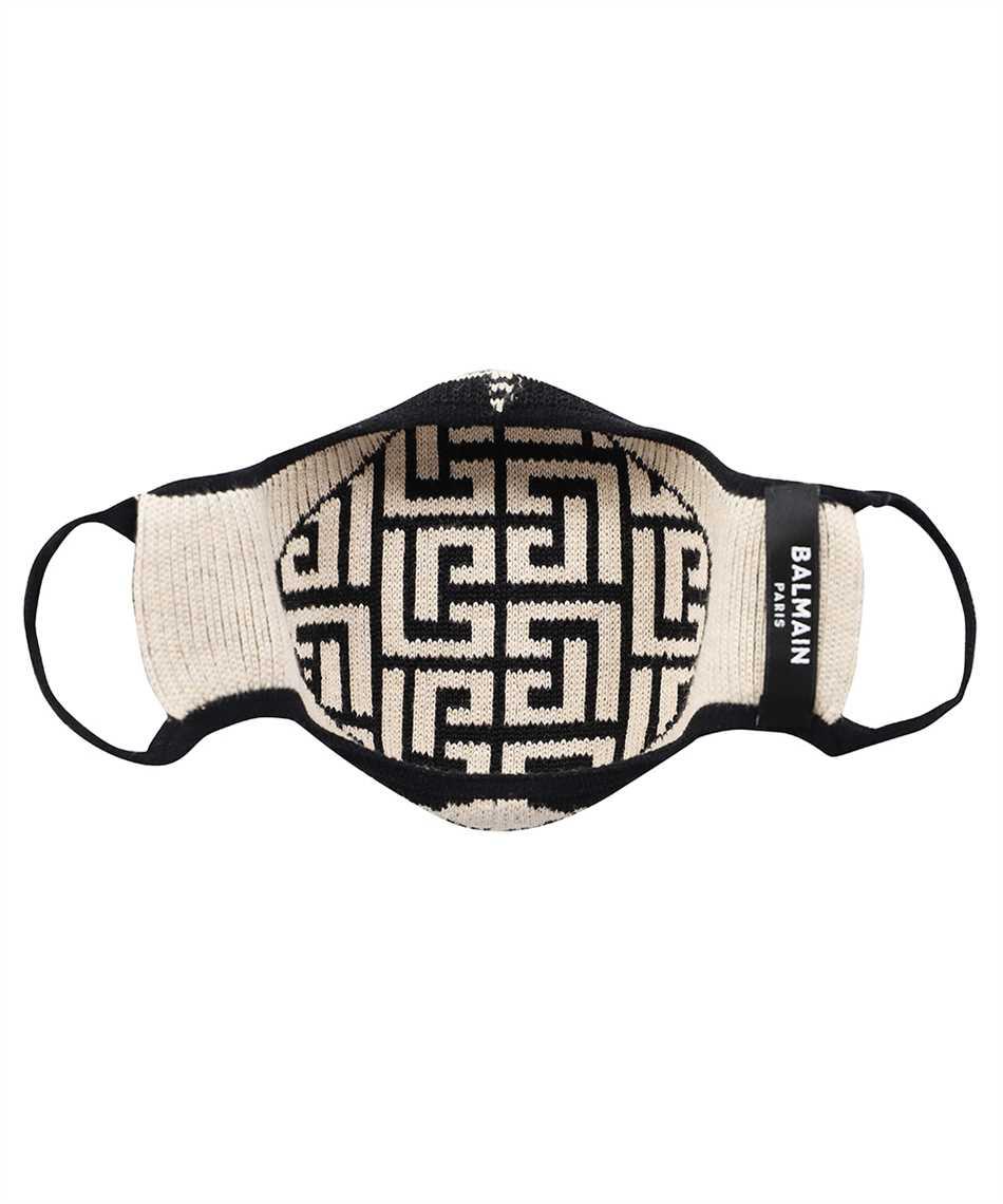 Balmain WF1XD001K265 KNITTED MONOGRAM Maske 2