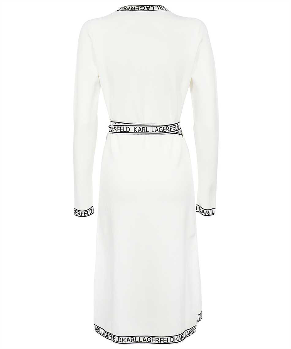 Karl Lagerfeld 215W1330 KNITTED WRAP Dress 2