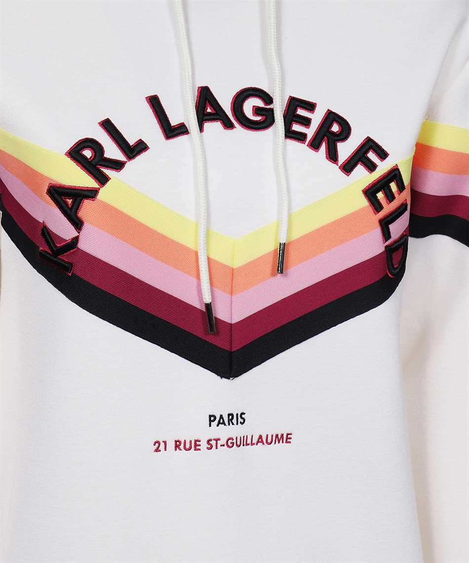 Karl Lagerfeld 215W1807 STRIPED Hoodie 3