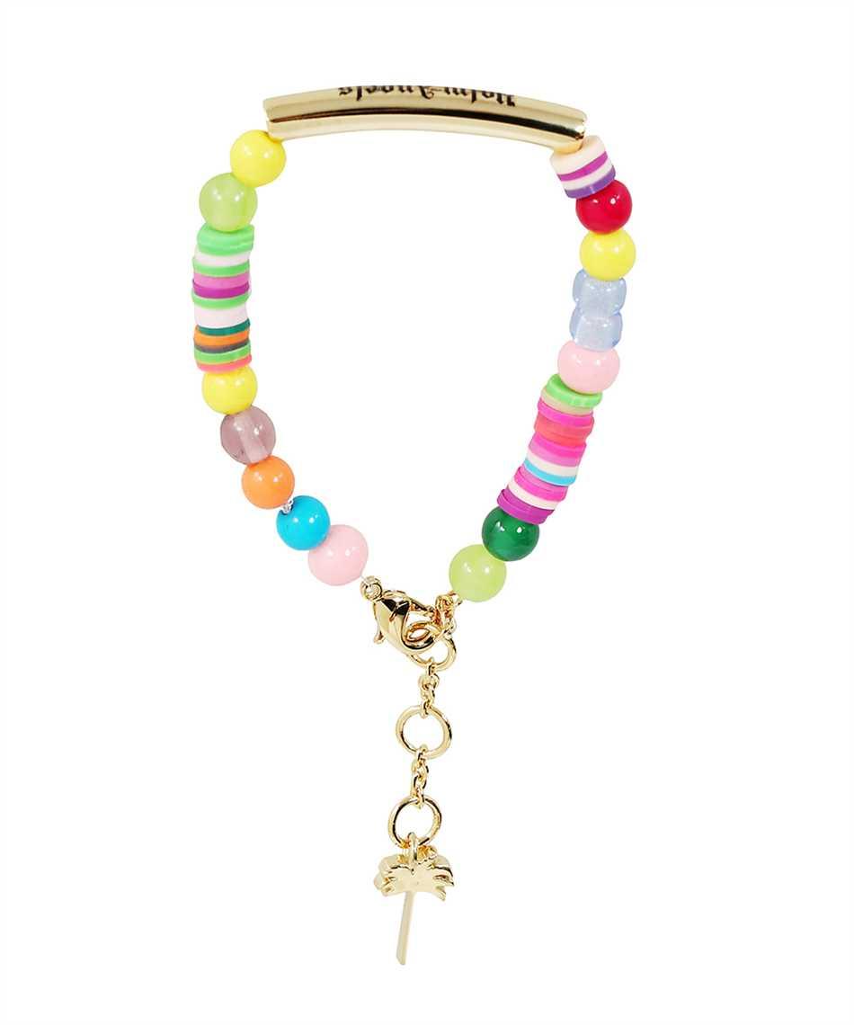 Palm Angels PMOA006F21MAT001 LOGO RAINBOW Bracelet 1