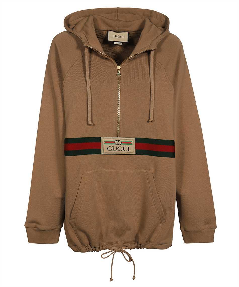Gucci 644656 XJC3W WEB AND GUCCI LABEL Hoodie 1