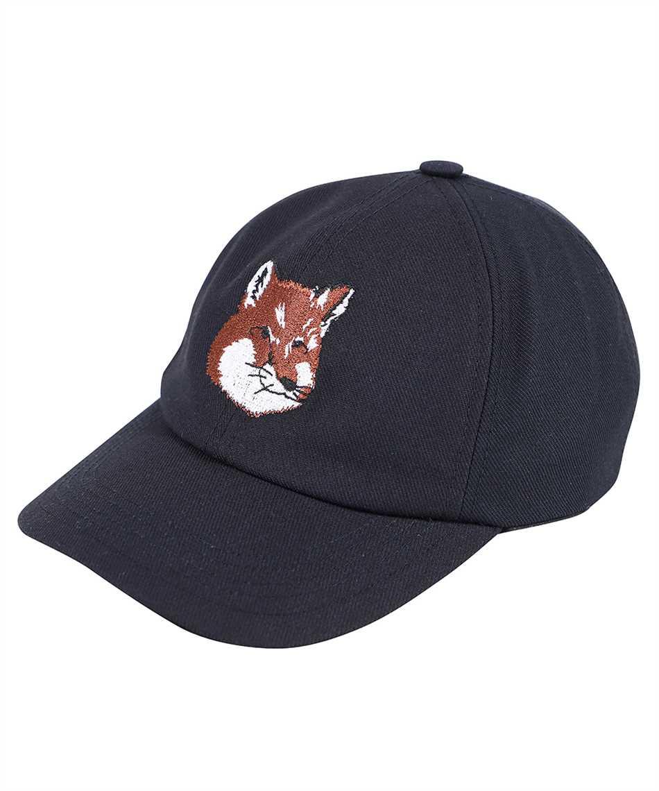Maison Kitsune HU06118WW0007 LARGEFOX HEAD EMBROIDERY Kappe 1