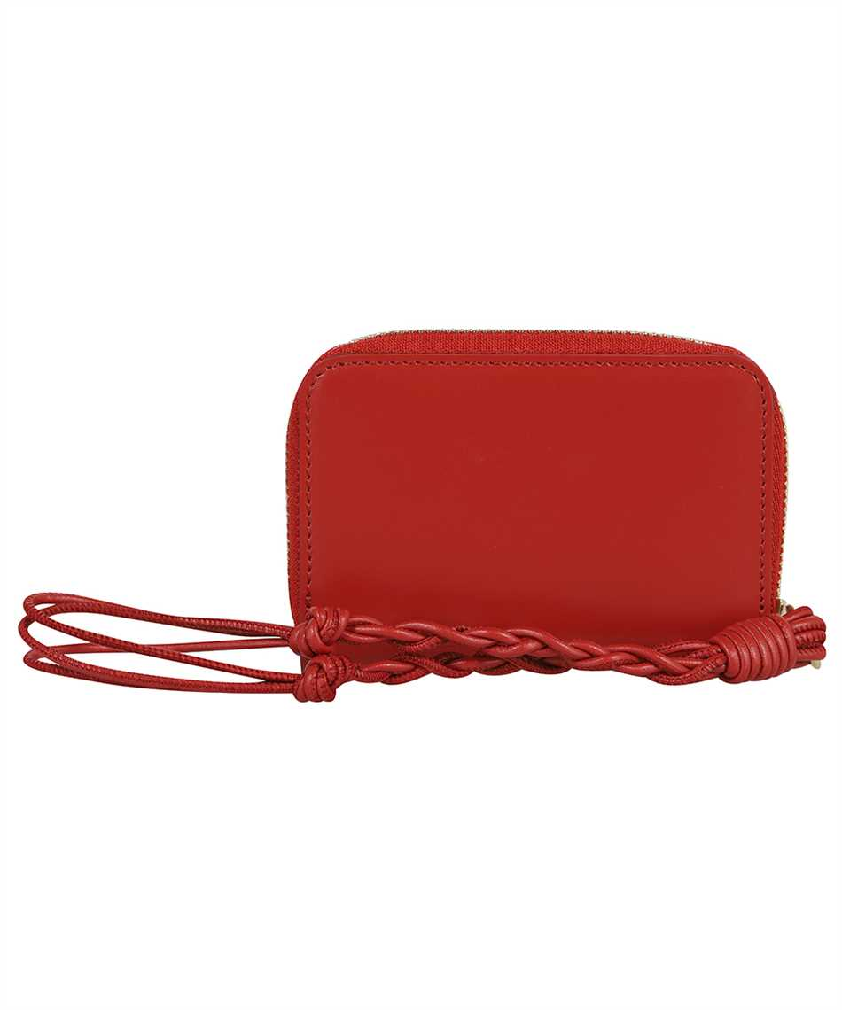 Jil Sander JSPT840053 WTS69158N SMALL ZIP AROUND Wallet 2