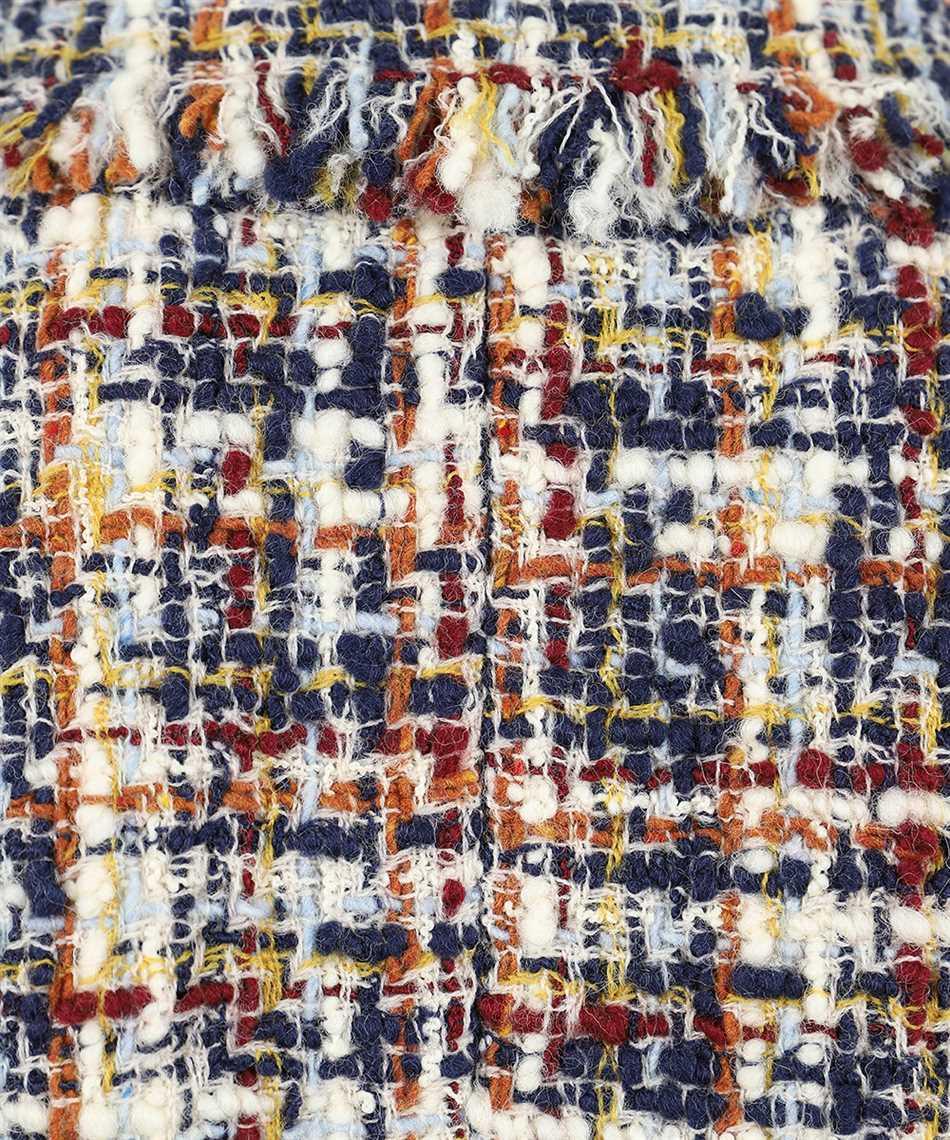 Lanvin RW-JA720U 4602 A20 ASYMMETRIC KNOTTED Jacket 3