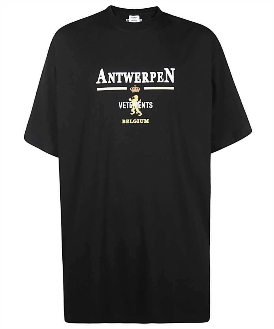 Vetements UE51TR430B ANTWERP LOGO T-shirt 1