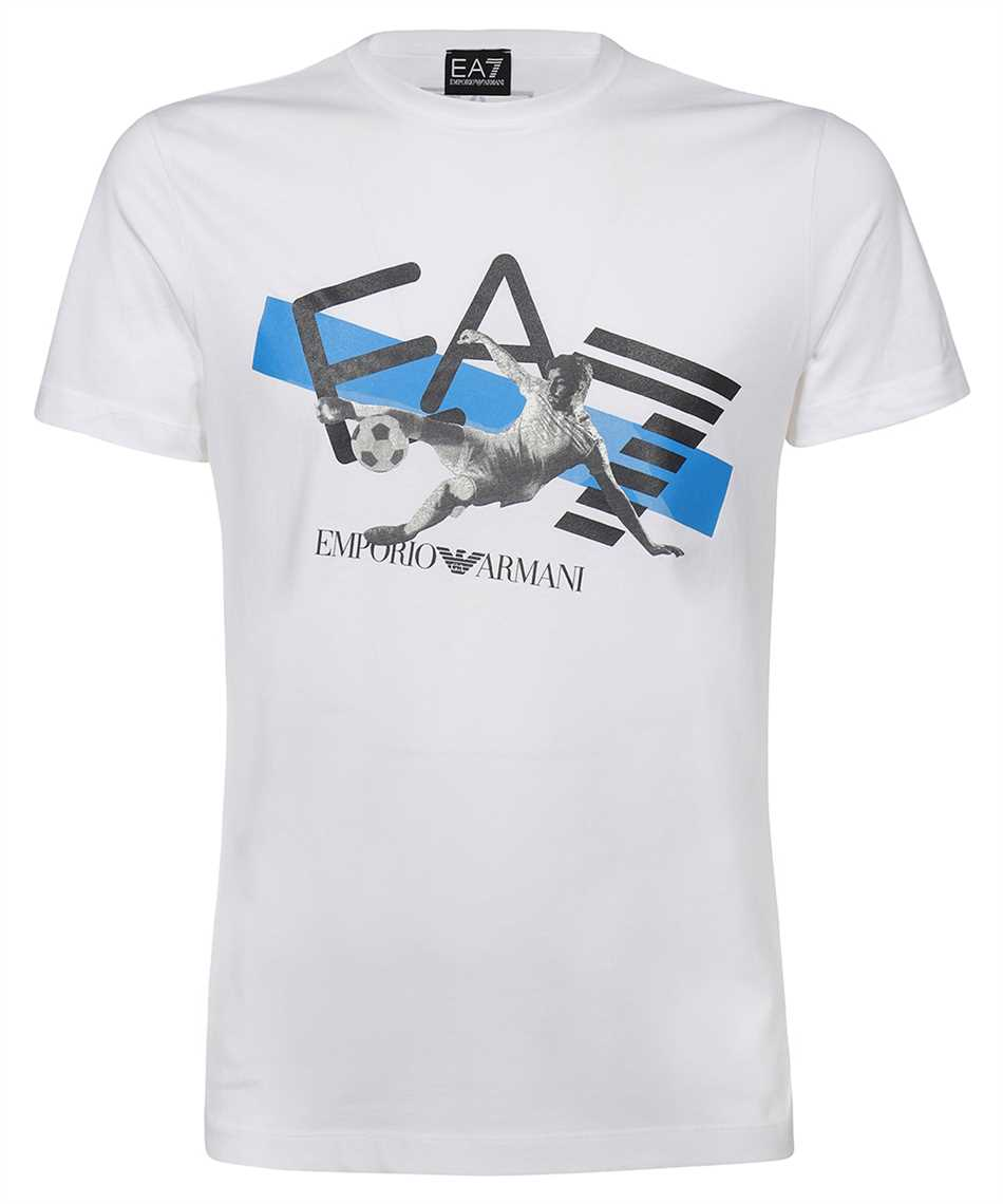 EA7 3KPT30 PJACZ LOGO STRETCH JERSEY T-shirt 1