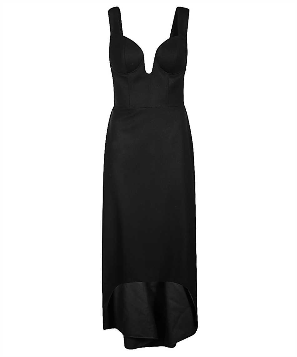 Alexander McQueen 639622 QJAAN SWEETHEART OXBRIDGE FLANNEL Kleid 1