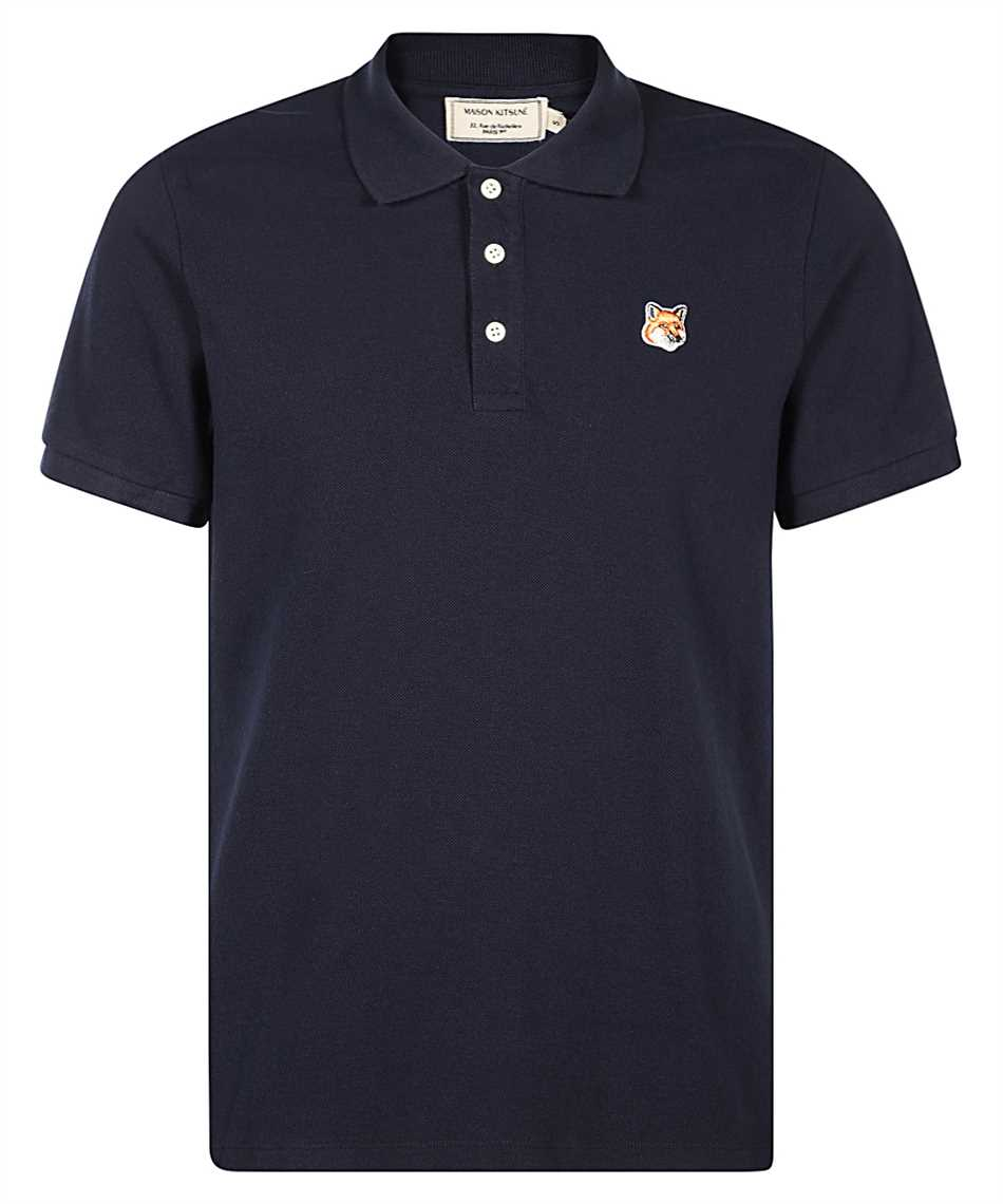 Maison Kitsune FU00203KJ7007 FOX HEAD PATCH CLASSIC Polo 1