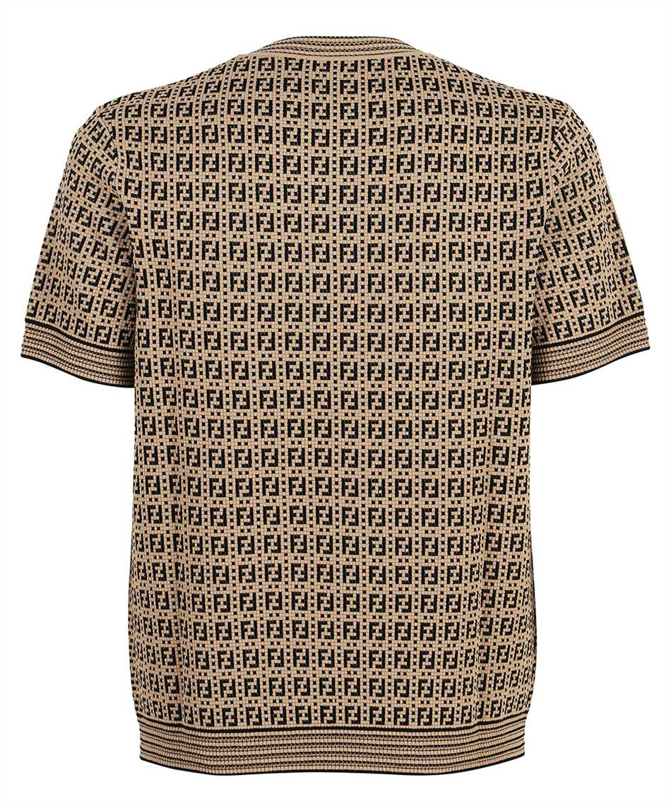 Fendi FZY426 AF59 FF INTERLACE KNIT T-shirt 2