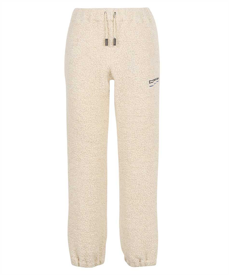 Off-White OWVG026F21FAB001 ATHL TEDDY Pantalone 1