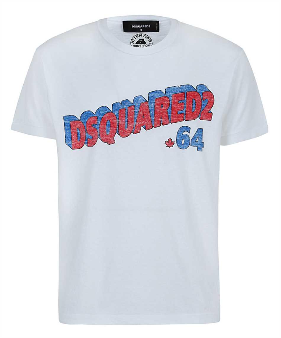 Dsquared2 S71GD1048 S22507 RETRO 64 T-shirt 1