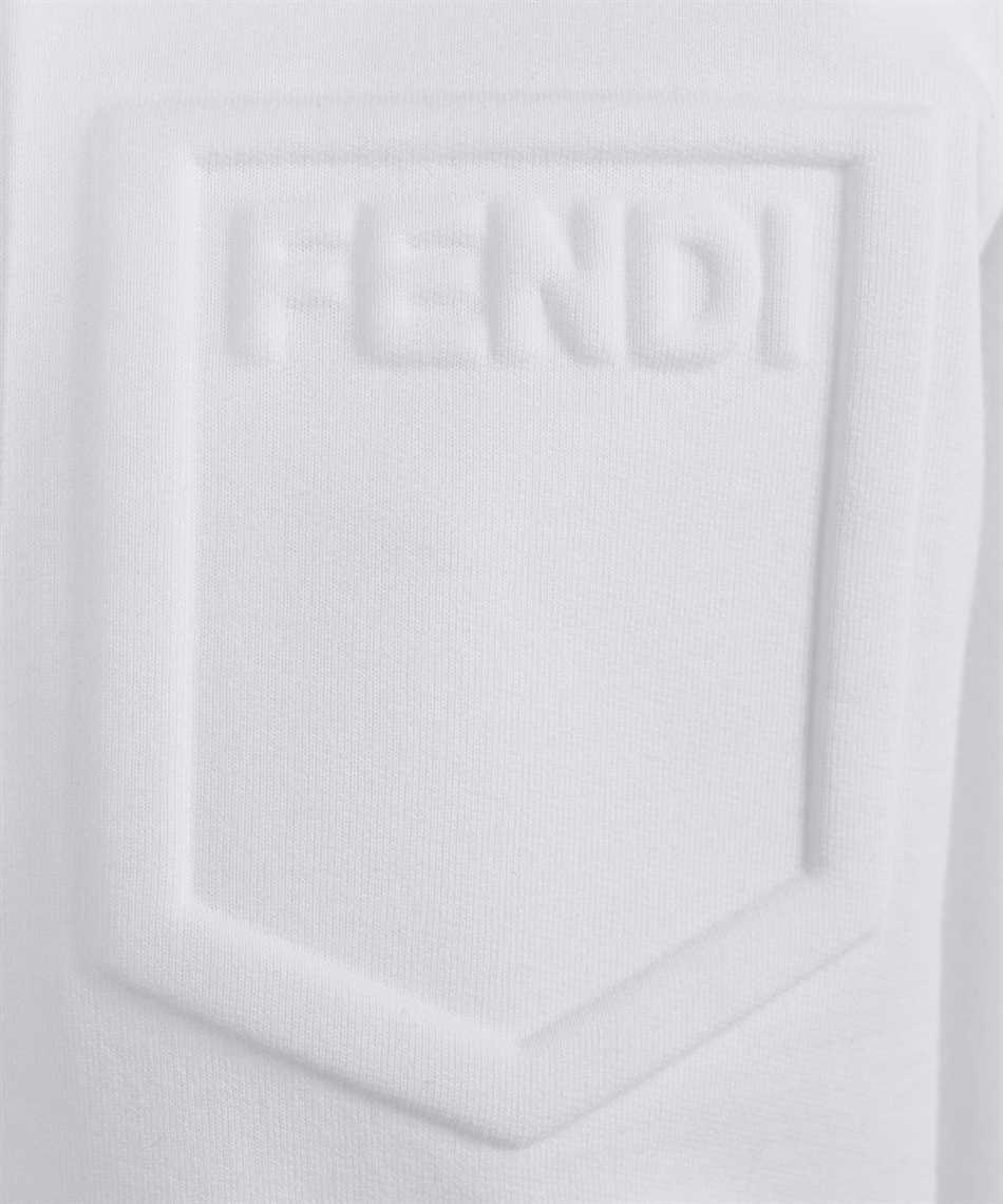 Fendi FS7031 AFLB LONG ZIPPED Felpa 3