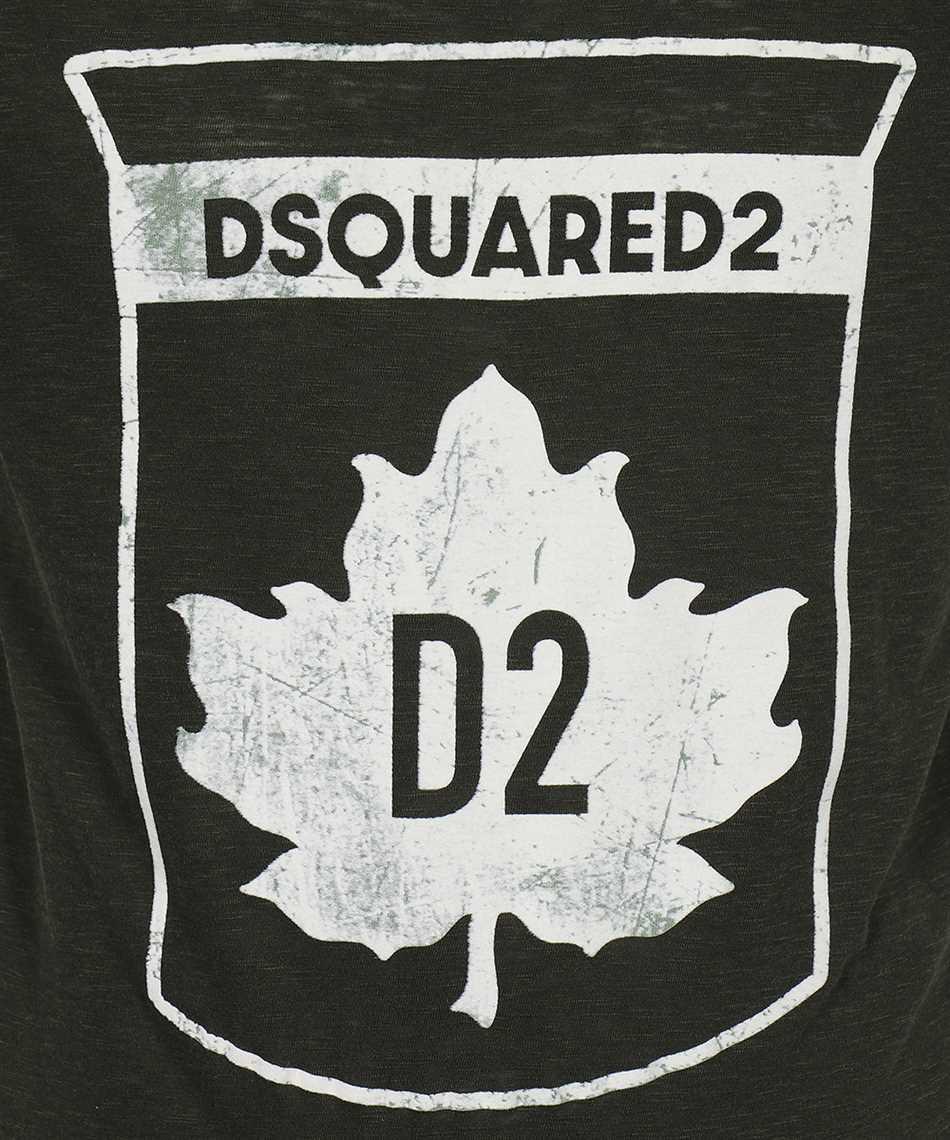 Dsquared2 S74GD0866 S22146 MAPLE LEAF T-shirt 3