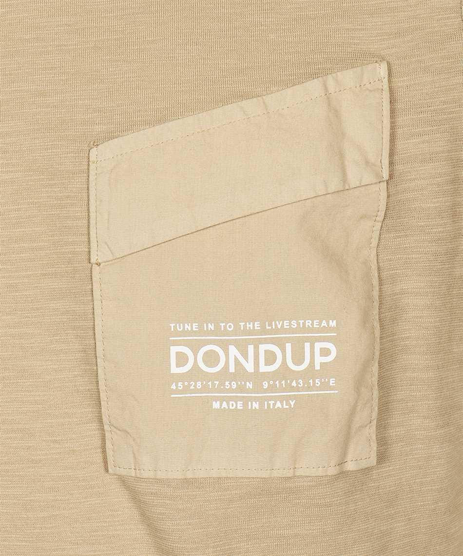 Don Dup US198 JF0195U ZC7 CHEST POCKET T-shirt 3