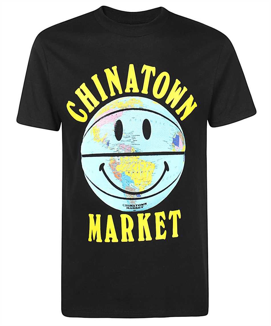 Chinatown Market 1990276 SMILEY GLOBE BALL T-shirt 1
