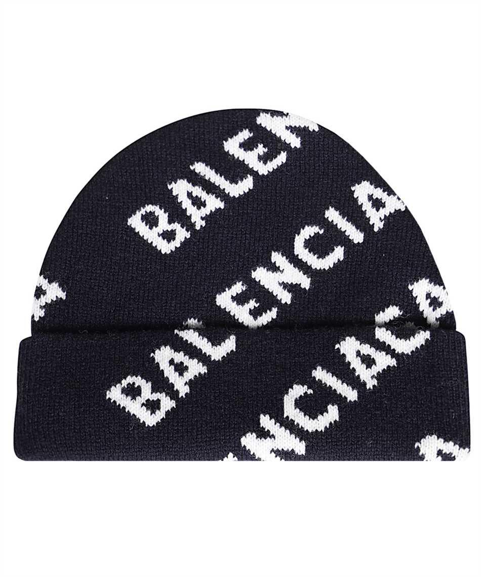 Balenciaga 621021 T1567 ALLOVER LOGO Beanie 1