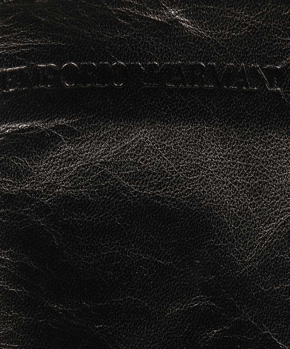 Emporio Armani 634265 1A201 LEATHER Gloves 3