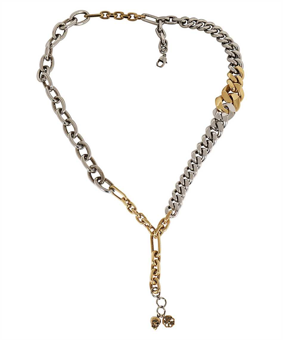 Alexander McQueen 660004 J160Z DOUBLE CHAIN Collana 1