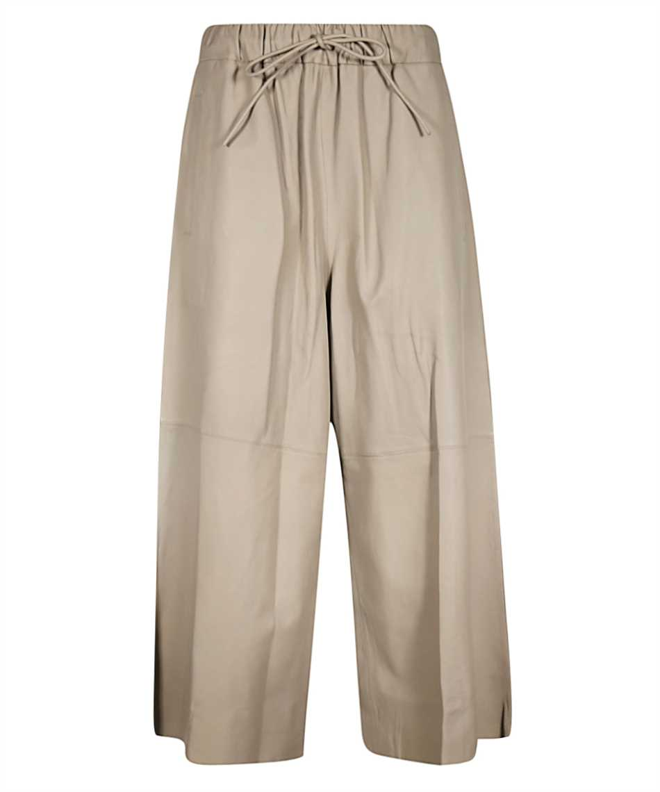 Yves Salomon 9EYP234XXAPXX LAMB LEATHER Trousers 1